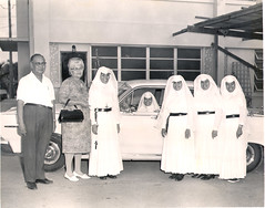 Pedro and Maria Ada with the Mercy Sisters