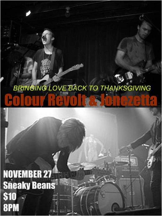 colour revolt & jonezetta