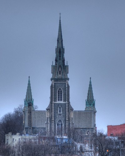 St. Josephs Church in HDR format.  Photo by Chuck Miller.