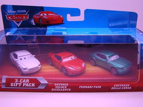 CARS Lenticular Ferrari 3 pack