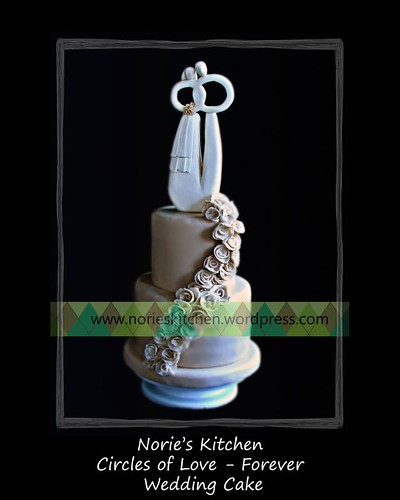 Norie's Kitchen - Circles of Love - Forever - Wedding Cake