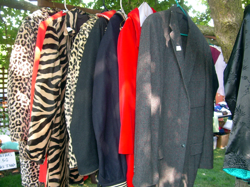 Row of jackets