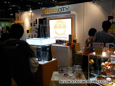Action City booth