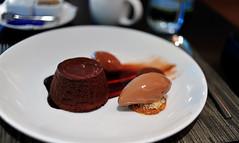 70% Chocolate Cake & Sorbet