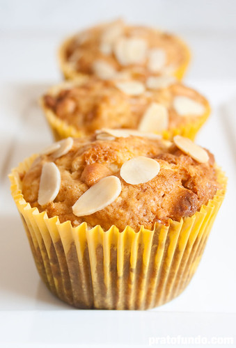 Muffin de Laranja & Butterscotch