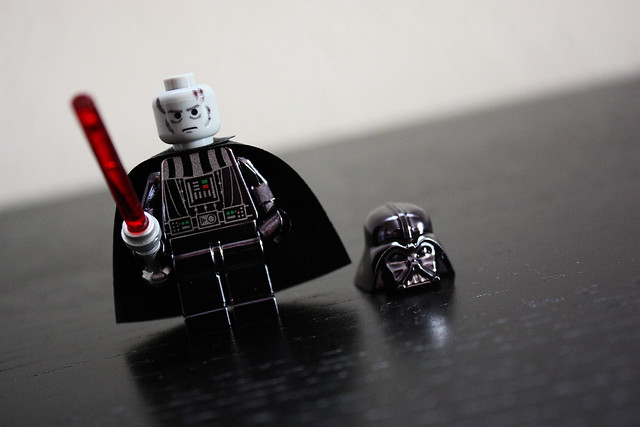 Lego Vader - Chrome Edition