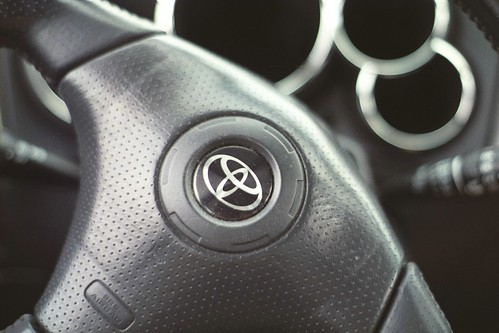 Toyota Matrix steering wheel