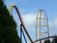 Cedar Point - Mantis and Top Thrill Dragster