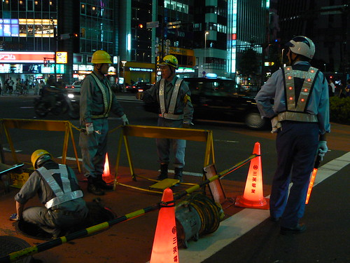 Japanese Construction Crew