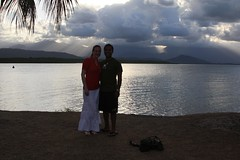 Us at sunset, Port Douglas