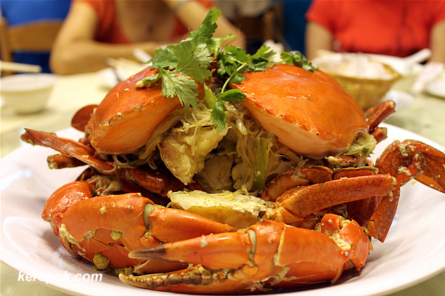 2 Crabs for our Crab Bee Hoon