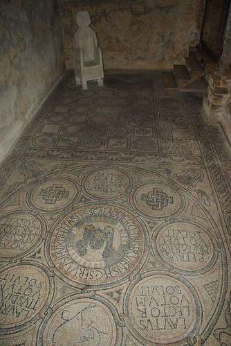 Mosaic pavement, Basilica of St Eufemia, Grado