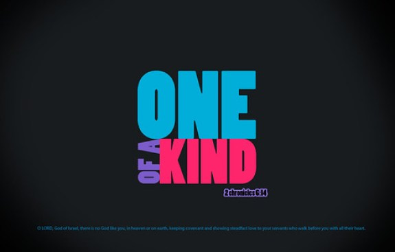 One of A Kind by pixel8design