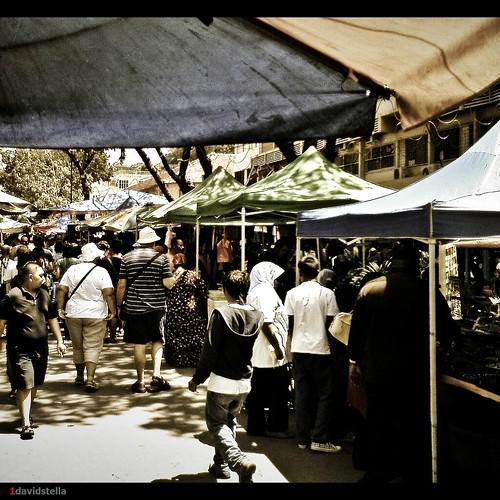 Gaya Street Sunday market.