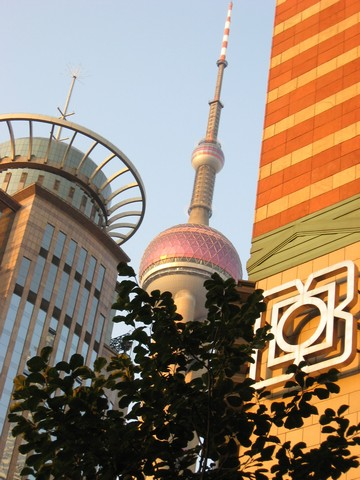 Shanghai Pearl of Orient Tower