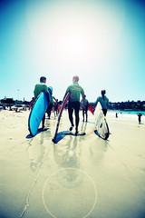 Bondi Beach - Learn to surf