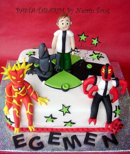 BEN 10 CAKE - BIRTHDAY EGEMEN'S
