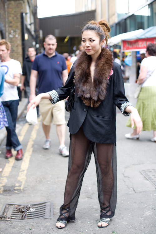 Fur & lace - Brick Lane