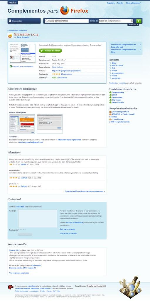 localiza escritillos al visitar páginas web