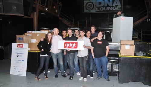 gdgt launch party: team gdgt