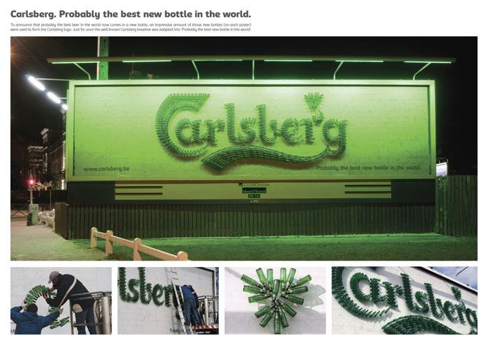 Carlsberg Bottle Ad