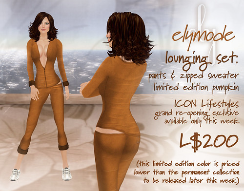 Lounging pants & Zipped Sweater - exclusive color available this week only