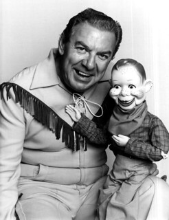 Portrait of Buffalo Bob Smith and Howdy Doody:...