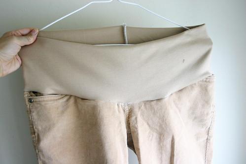 Maternity Pants Tutorial