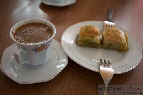 Coffee and Baclava