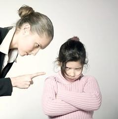 woman-scolding-child
