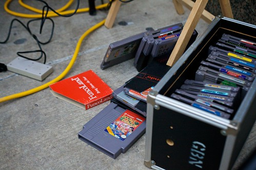 Nintendo Cartridges.