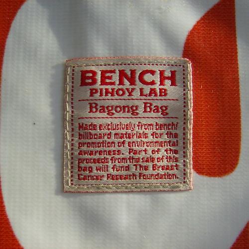bench/ PINOY LAB BAGONG REUSED AD BAG 3