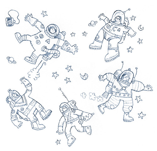 astronauts in peril