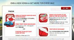 Honda 3S Campaign