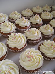 Agave and lemon cupcakes for the stall