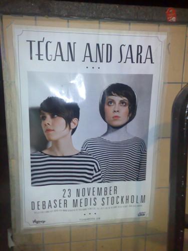 Typiskt. Tegan and Sara spelar i Stockholm när jag inte är här.