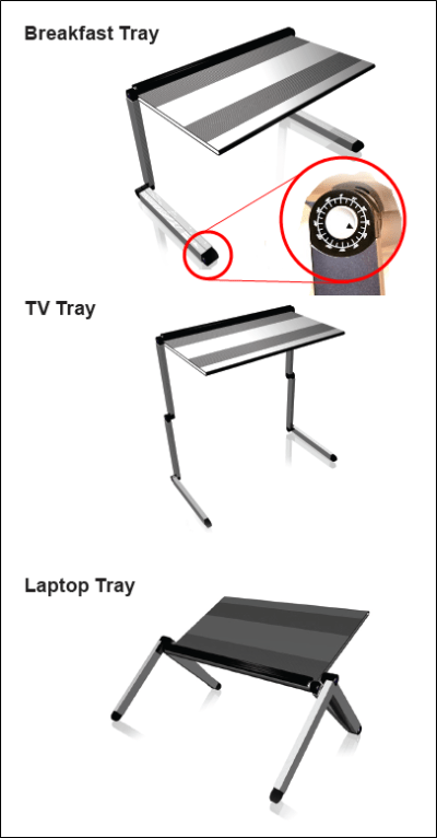 LapDawg transformer Laptop Stand