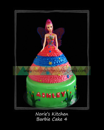 Norie's Kitchen - Barbie Fairy Themed Cake