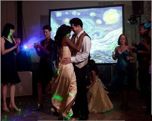 Dancing among the stars