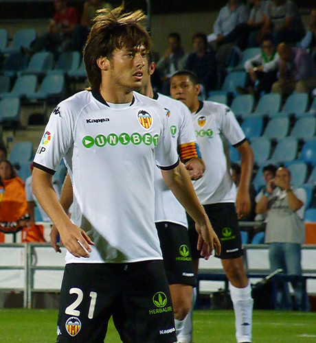 Valencia players - front