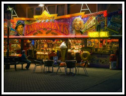 Bridlington Yorkshire coast amusement arcade