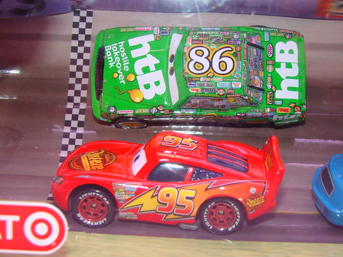 Disney CARS Target Racing 4 Pack (2)