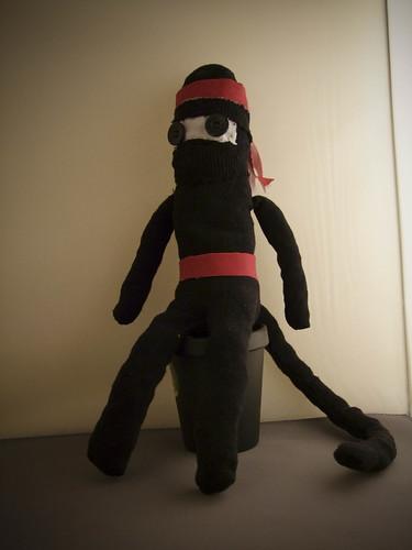 Ninja Monkey - deadliest of all ninjas!