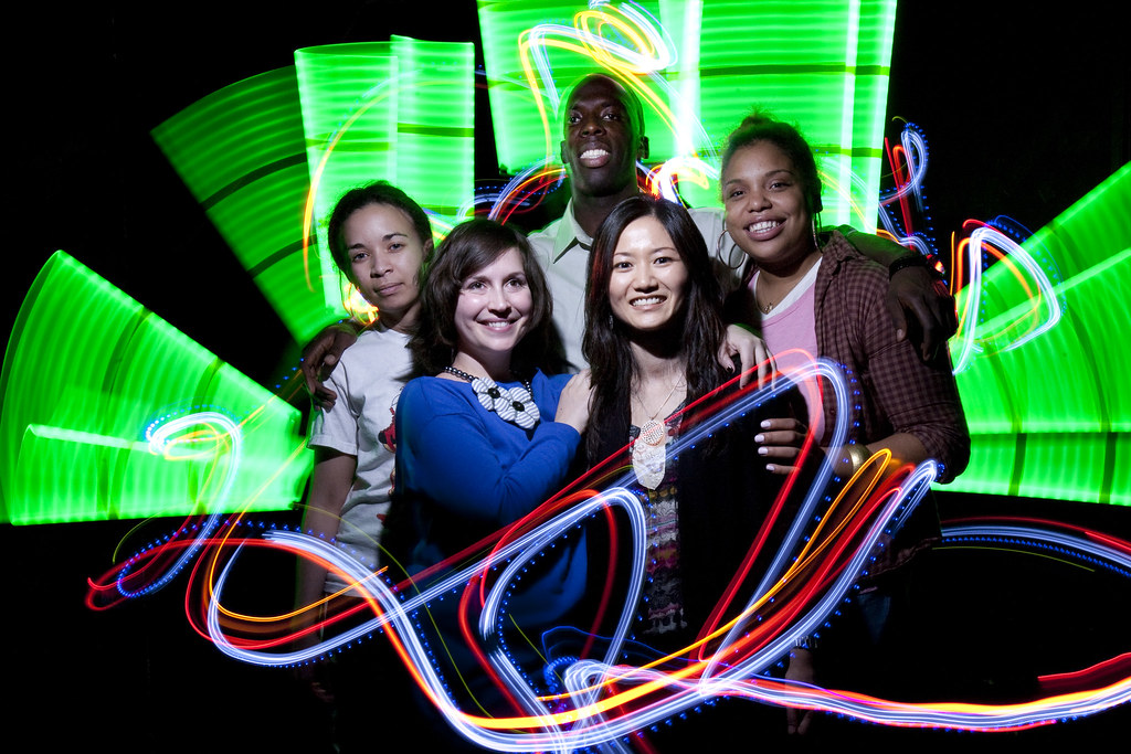 MRI Lightpainting - Team Lumiere Gets the Photobooth Treatment