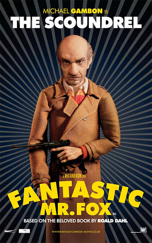 Fantastic Mr. Fox (2009) character poster-The Scoundrel