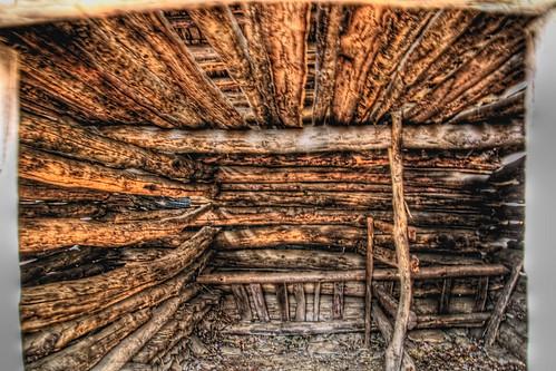 Inside a 19th Century Barn
