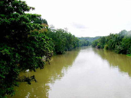 The river of Loboc
