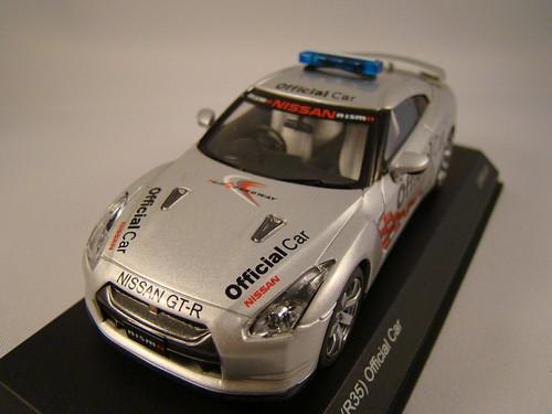Kyosho Nissan Skyline R35 GTR Safety Car (2)