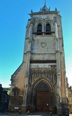 Aumale-Eglise St Pierre;Normandie,France