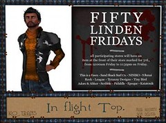 50L Friday 13 --TD-- Tyrany Designs - Inflight Top